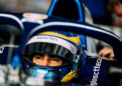 2018 FIA F2 Champ. Bahrain Intl. Circuit – Collectives test.