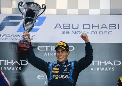 2019 – FIA F2 – 12th Round – Abu-Dhabi (UAE)